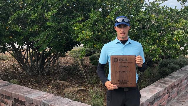 Florida's Zack Shriver Wins Playoff To Claim Event No. 4 In PGA Tournament Series