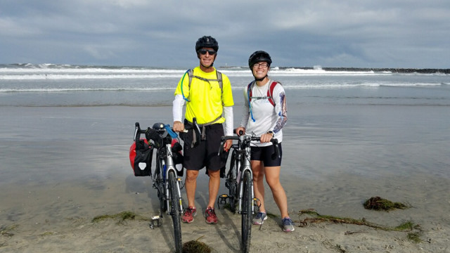 PGA Master Professional Kevin Compare and Daughter Begin Cross-County Charity Bike Ride