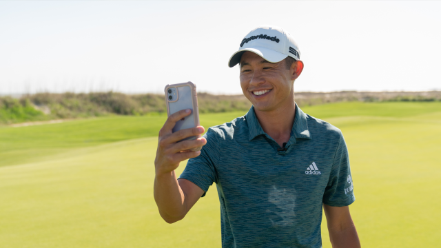 What Does Collin Morikawa Listen to on the Range?
