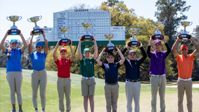 Eight Champions Crowned at 2021 Drive, Chip and Putt National Finals at Augusta National Golf Club