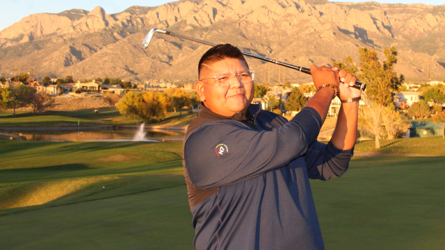 Jason Montoya's Journey from Making Pueblo History to Becoming a Beacon for Native American Junior Golf