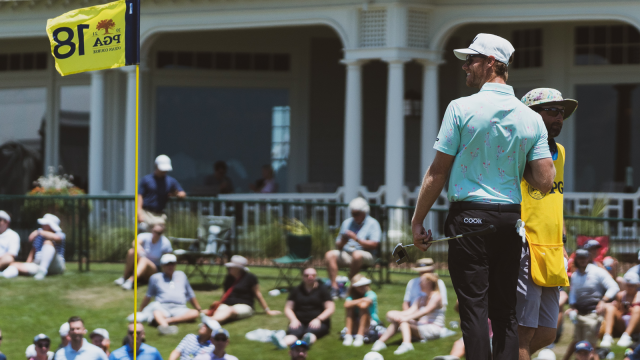PGA Professional Ben Cook Goes Low in Round 3 at PGA Championship