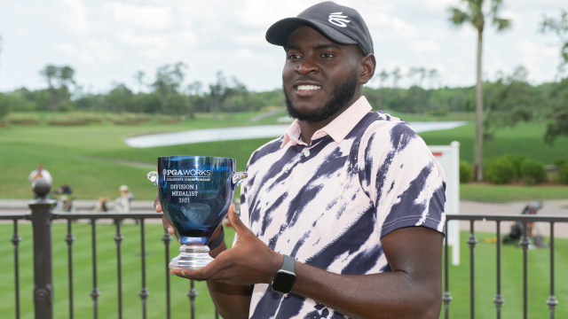 Howard's Gregory Odom Jr. Wins One for 'Pops' at the PGA WORKS Collegiate Championship