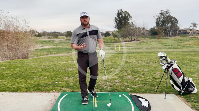 A Swing-Station Setup & Drill to Help Fix Your Slice