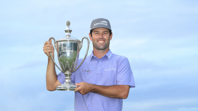 Streb Nearly Holes Out in a Playoff to Win at Sea Island