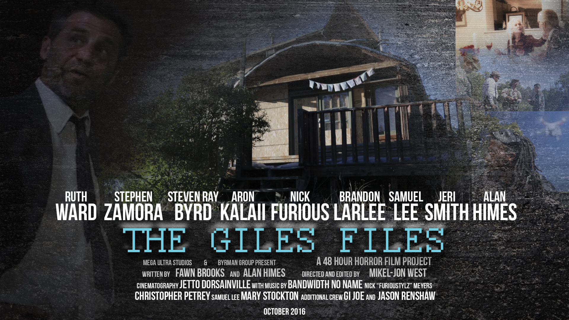 Giles Files Poster Wide