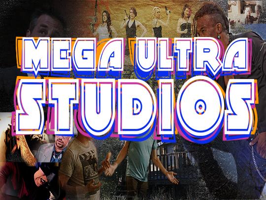 Mega Ultra Studios Splash Page on Roku