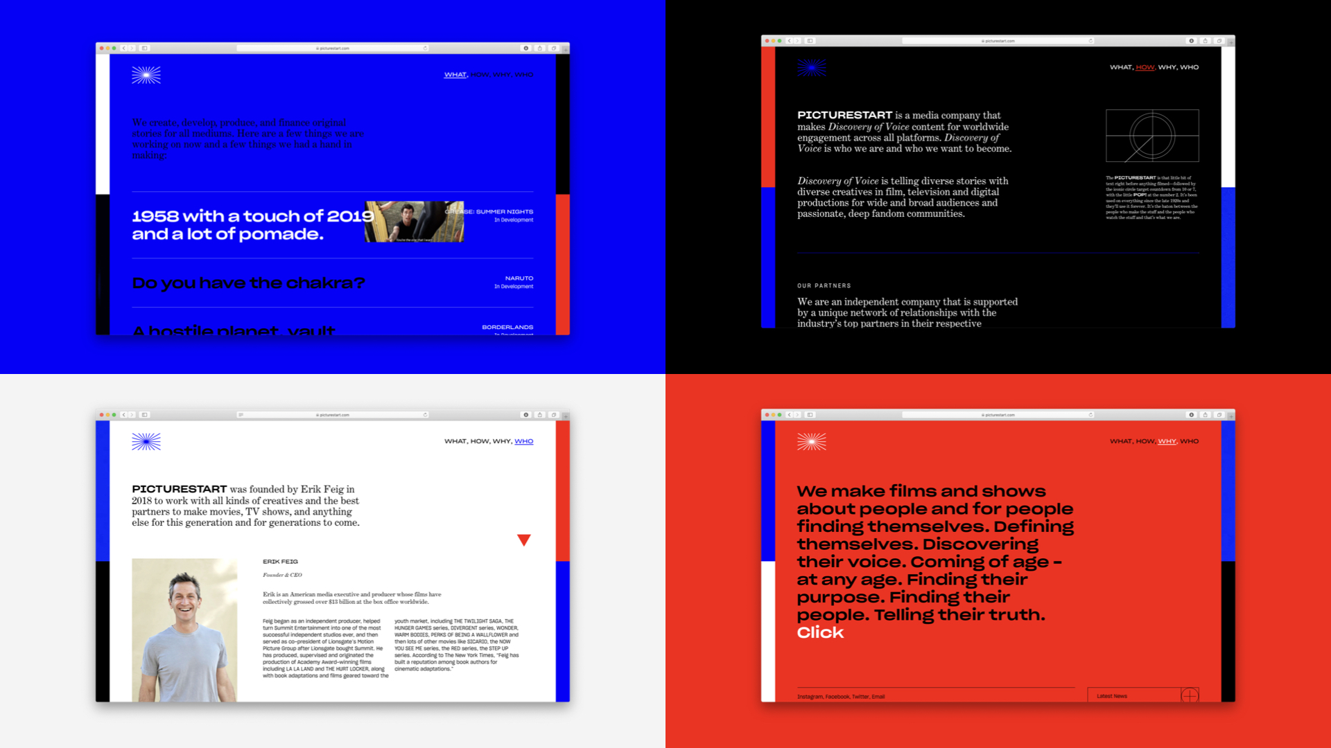 4 Pages, 4 colors