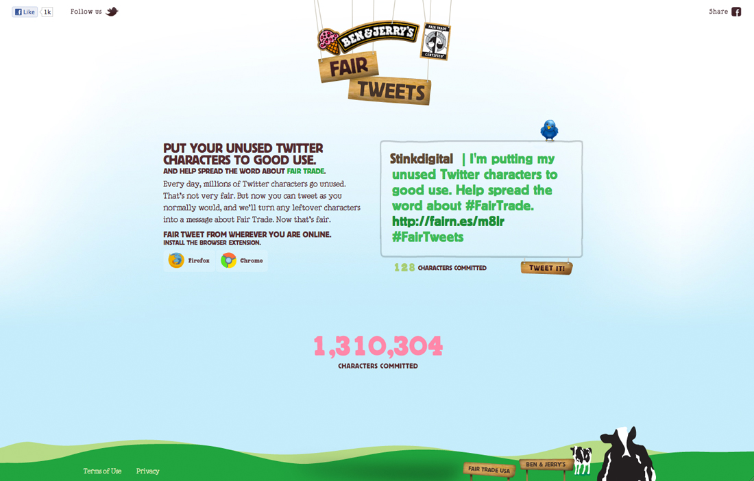 Ben and Jerrys - Fair Tweets - Work - Image - 02