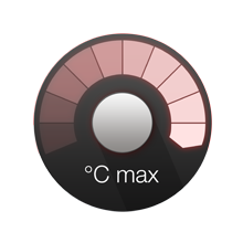 Temperature boost button