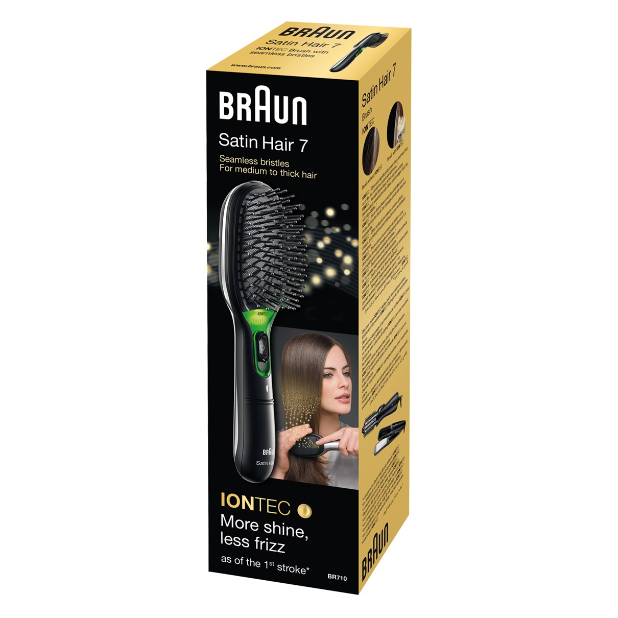 Braun Satin Hair 7 BR710 brush with IONTEC - packaging