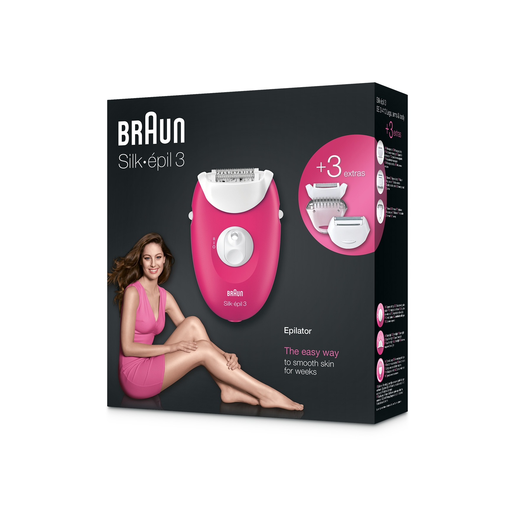 Silk-épil 3 3-410 epilator package