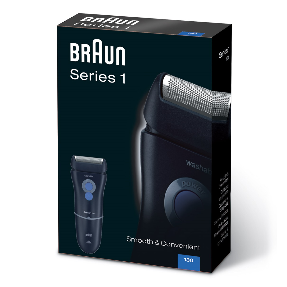 Braun Series 1 130s shaver - packaging