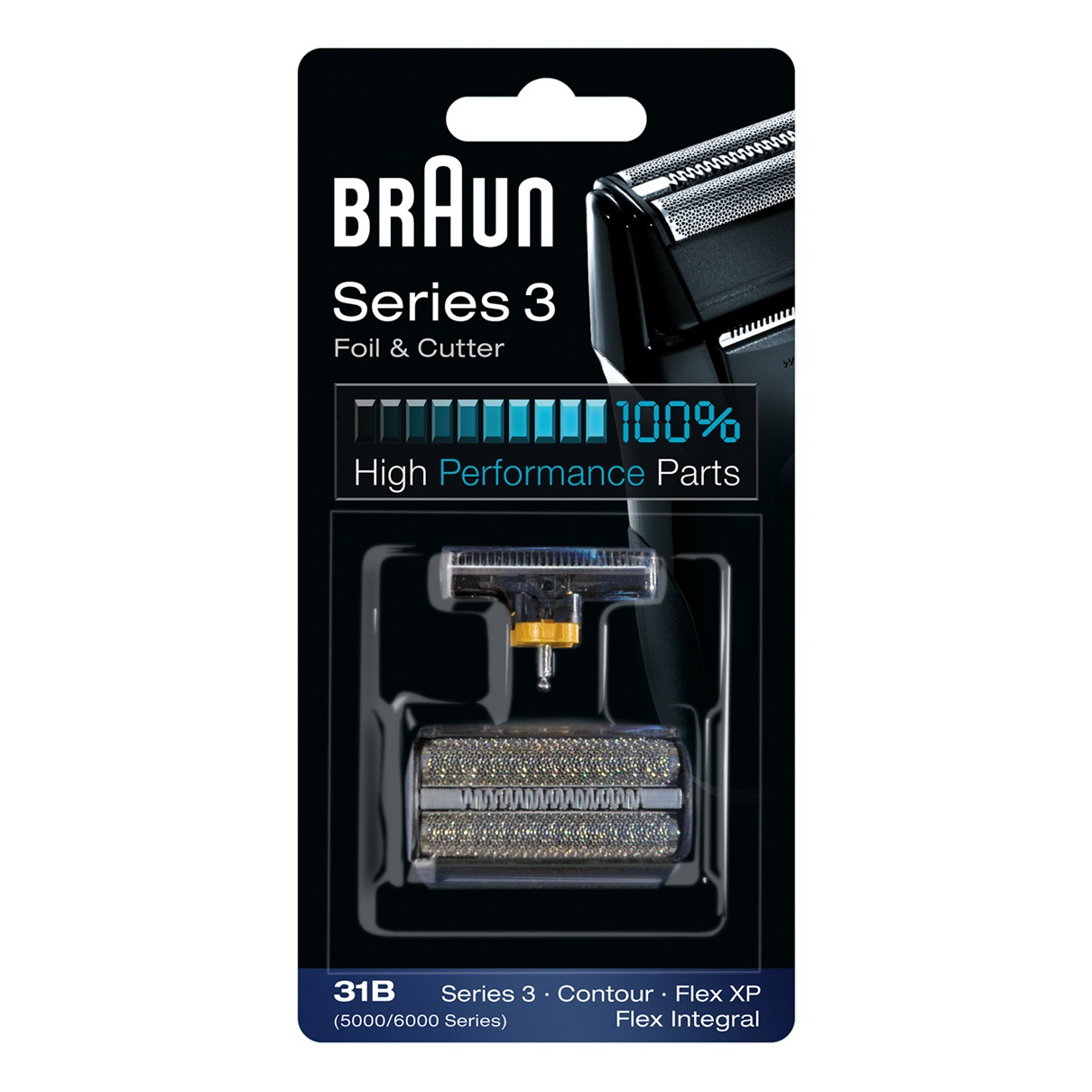 Braun Series 3 Combi 31b Foil and Cutter Replacement pack