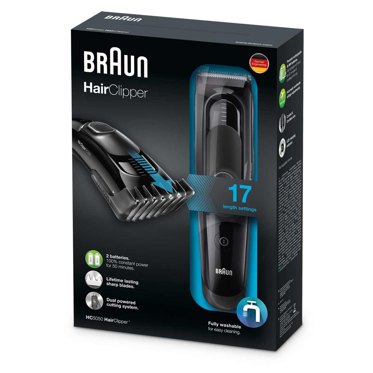 Braun HC5050 - package