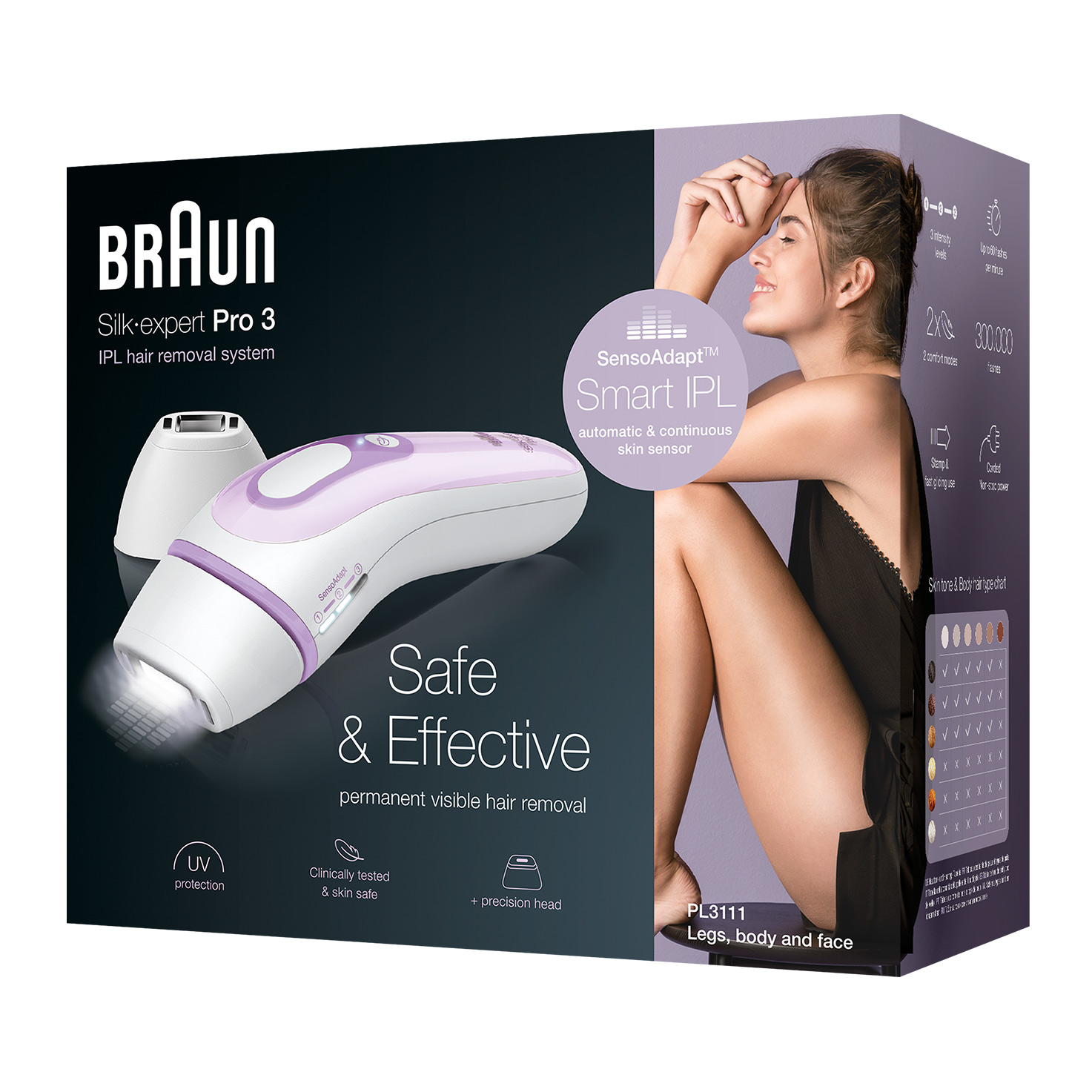 Braun Silk-expert Pro 3 PL3011 - Packaging