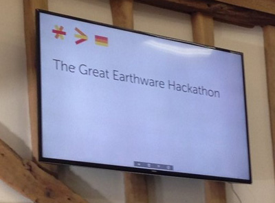 The Great earthware Hackathon
