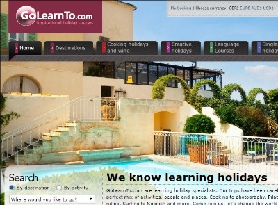 GoLearnTo continues to show how to place technology at the heart of the online experience