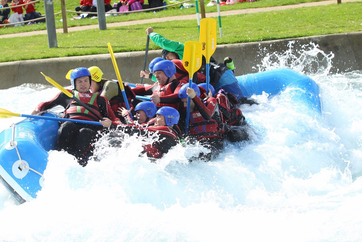 White water rafting 7