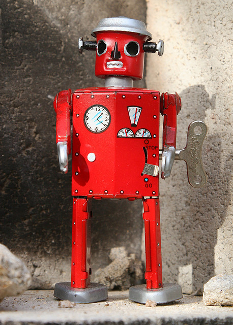 red-robot