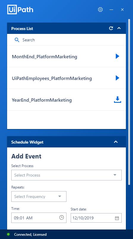 uipath agent desktop 2019