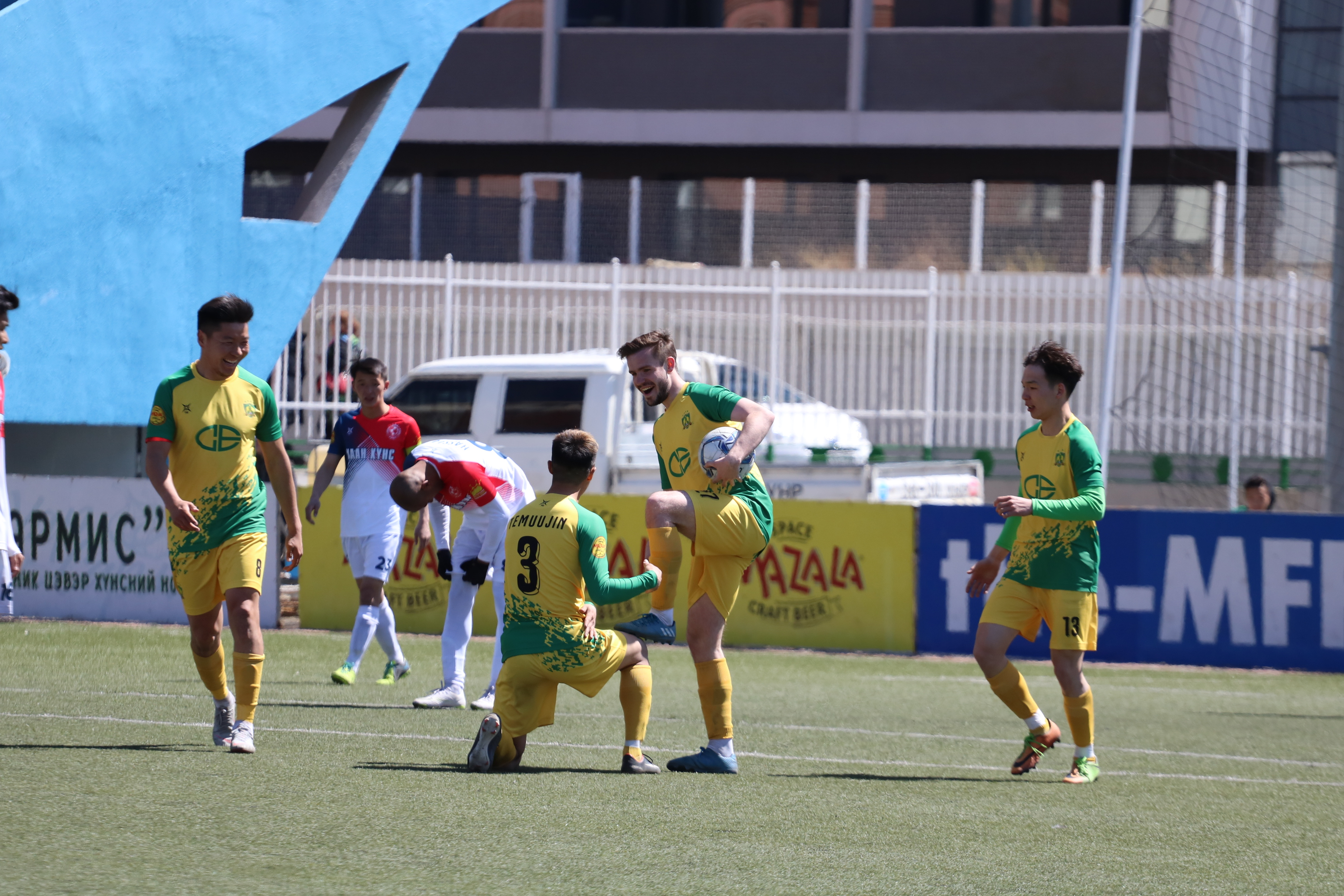 Khaan khuns Titem and Khangarid finished 5-5 in their Mongolia Premier League game on 4 May 2019