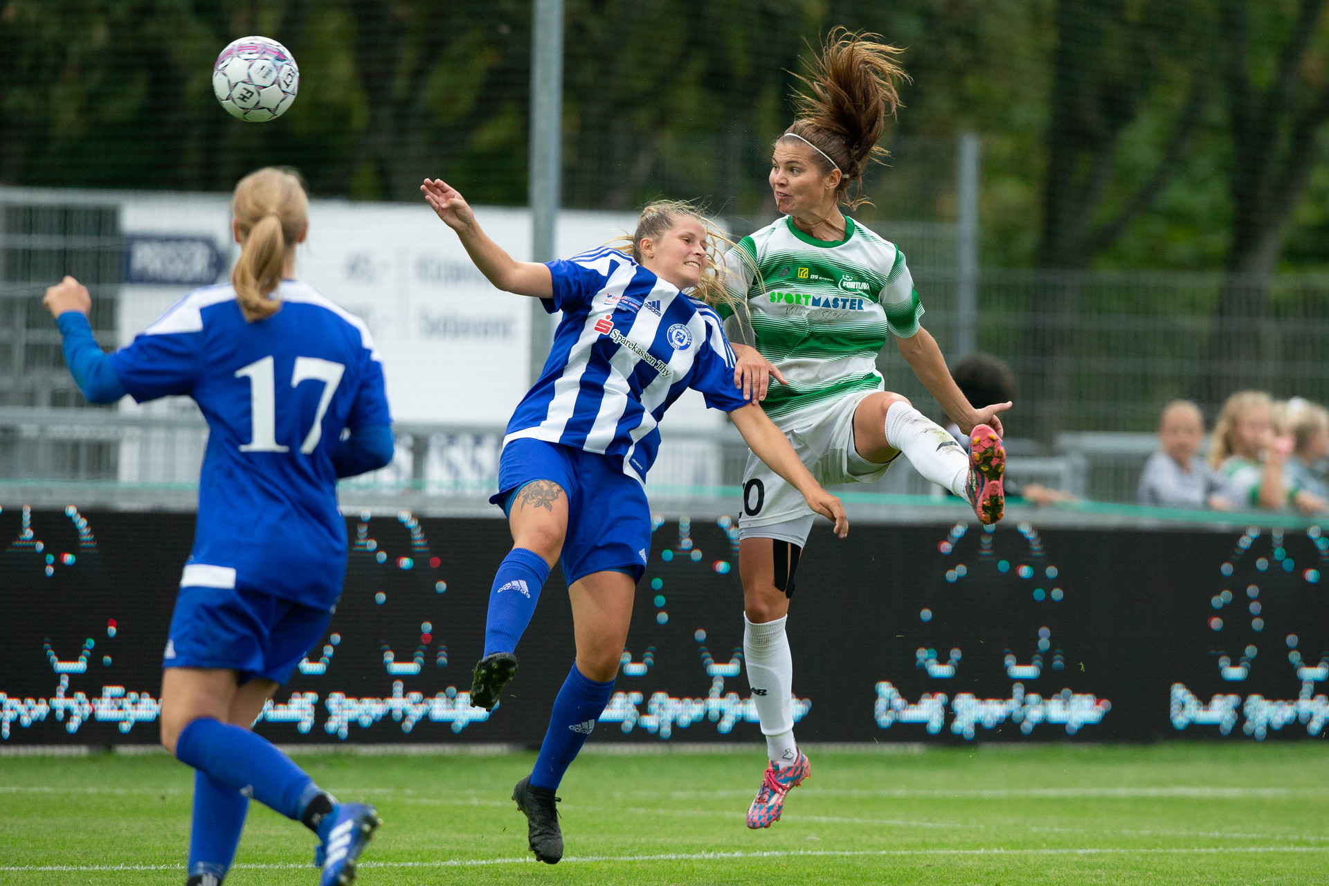 Signe Bruun, young striker from Fortuna Hjørring, has now moved to European giant Paris-SG