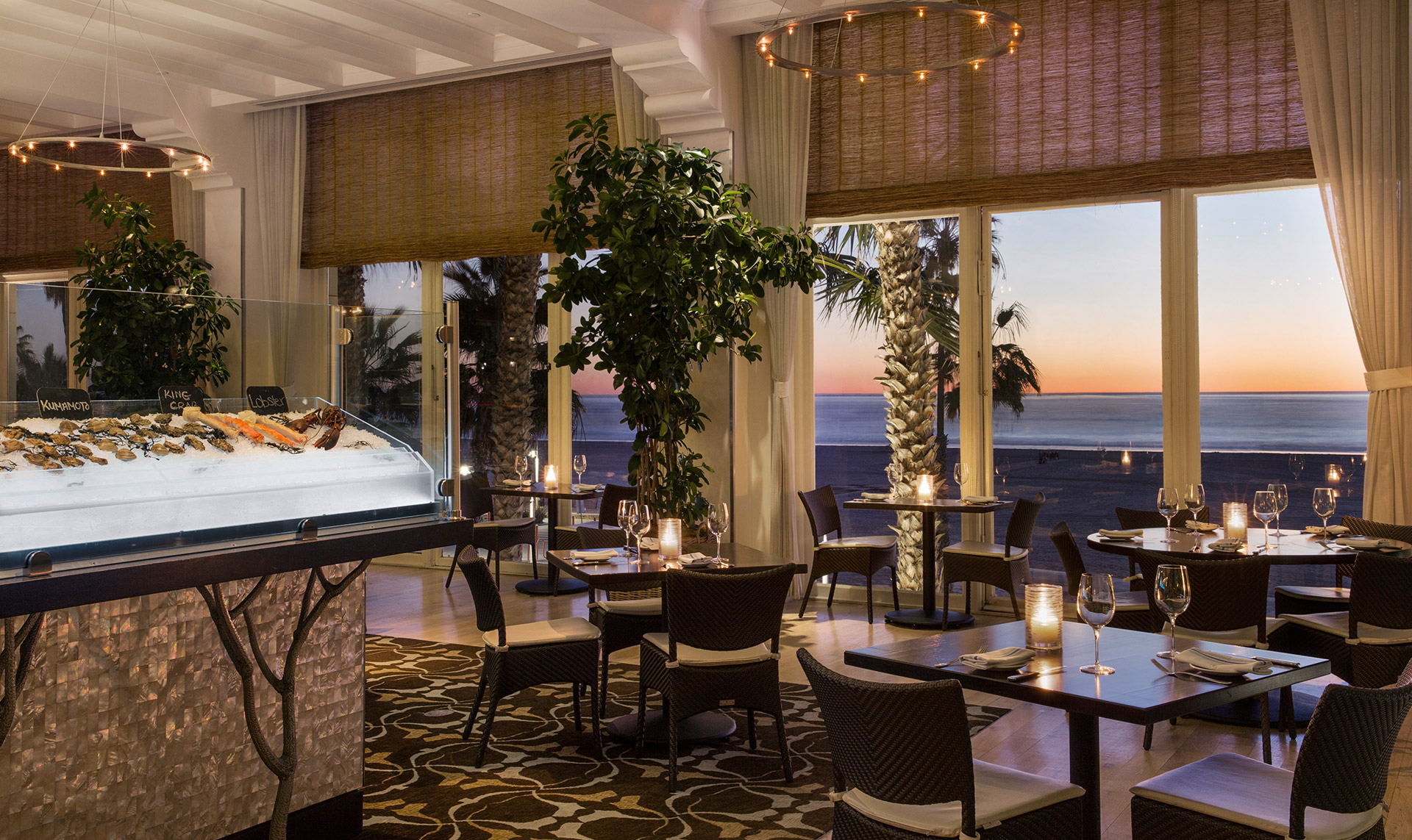 Sushi Seafood Restaurant Santa Monica Catch Hotel Casa Del Mar