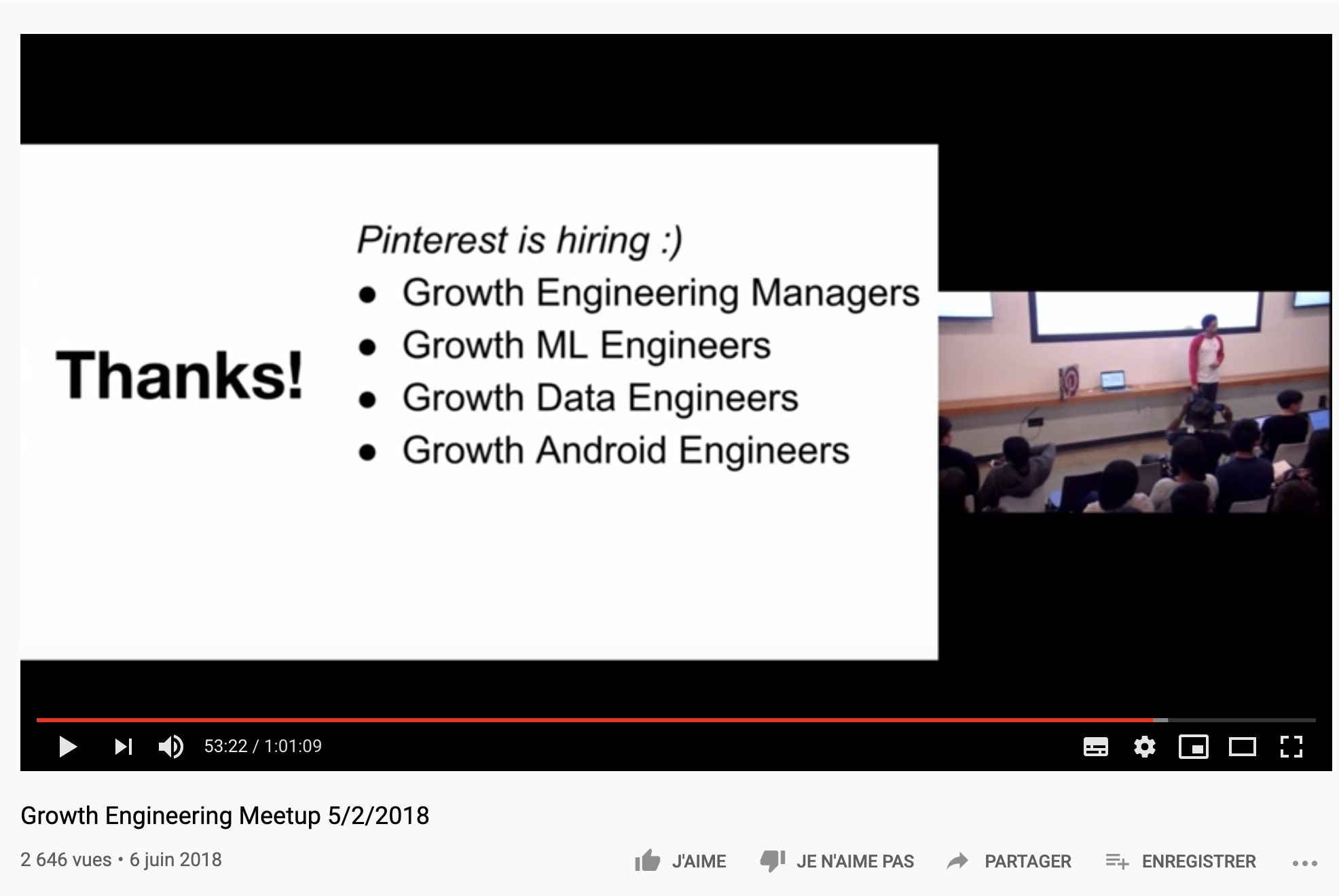 Le Growth Engineering Chez Pinterest