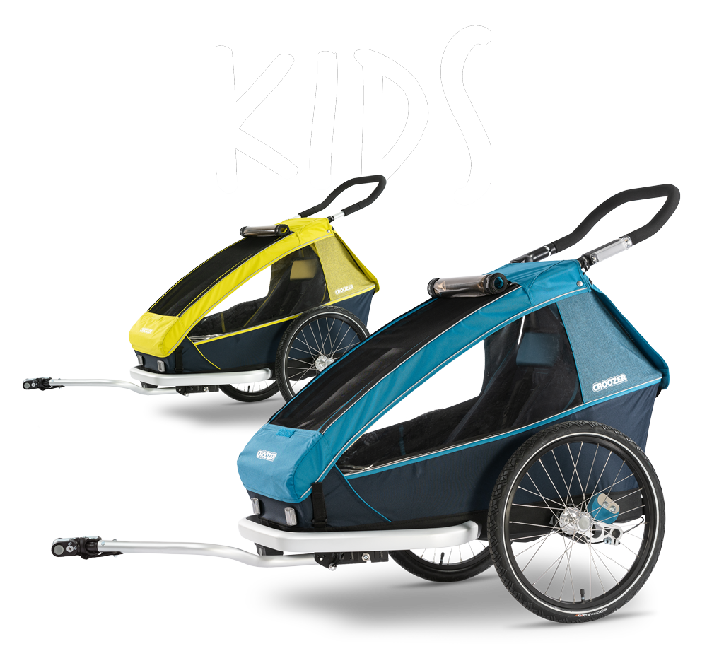 Bicycle trailers for child, pet and cargo | Croozer®