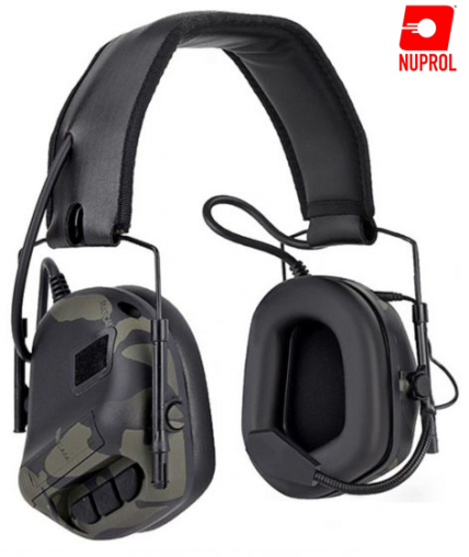 TACTICAL COMMS HEADSET NR NP BK CAM