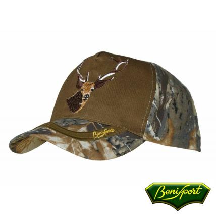 BENISPORT DEER 5 PANNELS CAP - ADJUSTABLE