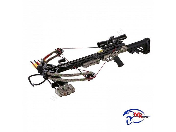 185LBS COMPOUND CROSSBOW XB52 GREEN CAMO KIT