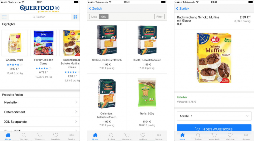 querfood app