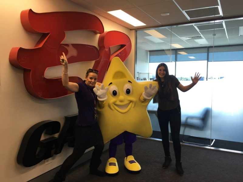 Mandy Fish Starlight Week 2017 EB Games Head office