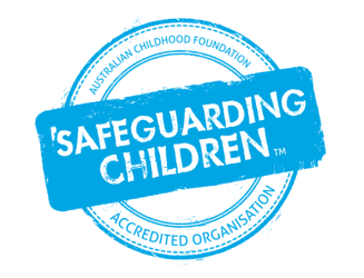 Safeguarding logo page header