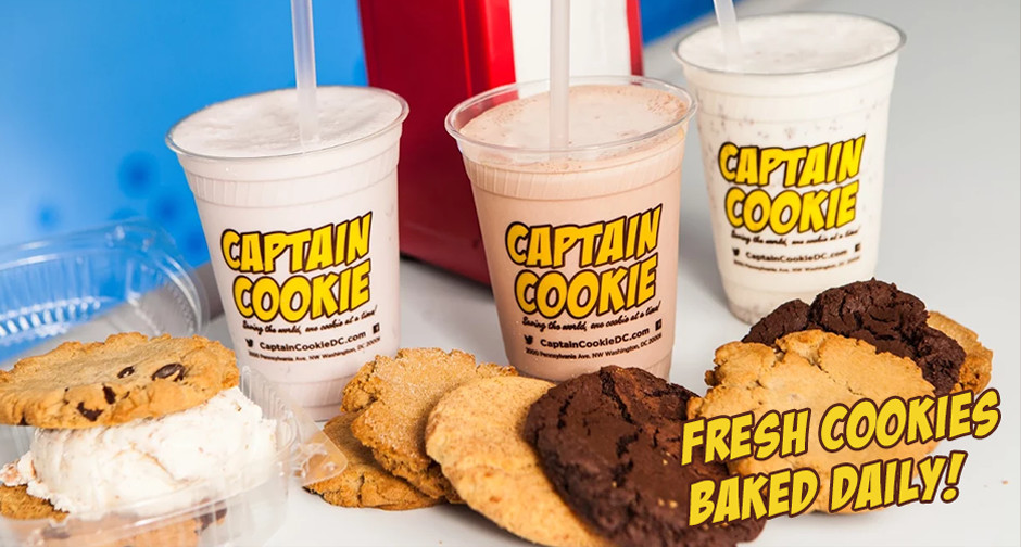 Captain Cookie and the Milkman | Home