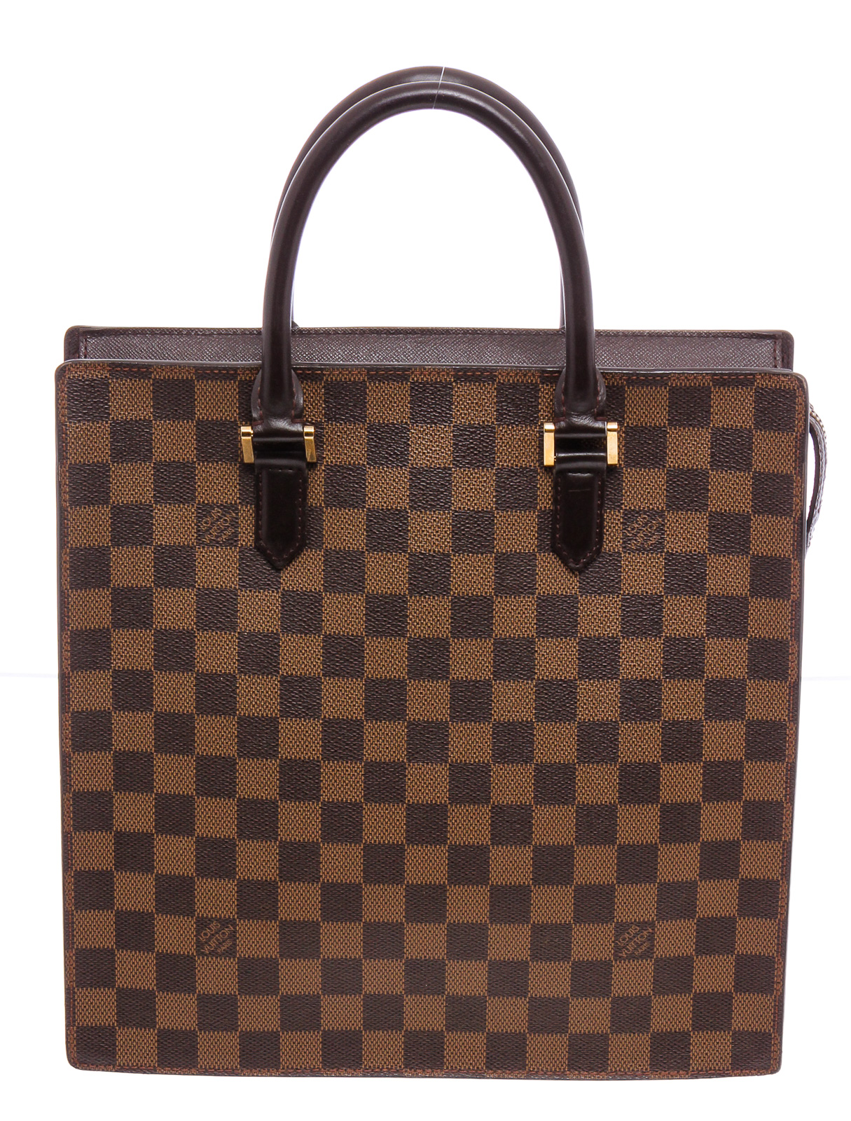 Louis Vuitton Damier Venice Sac Plat Marque Luxury.jpg