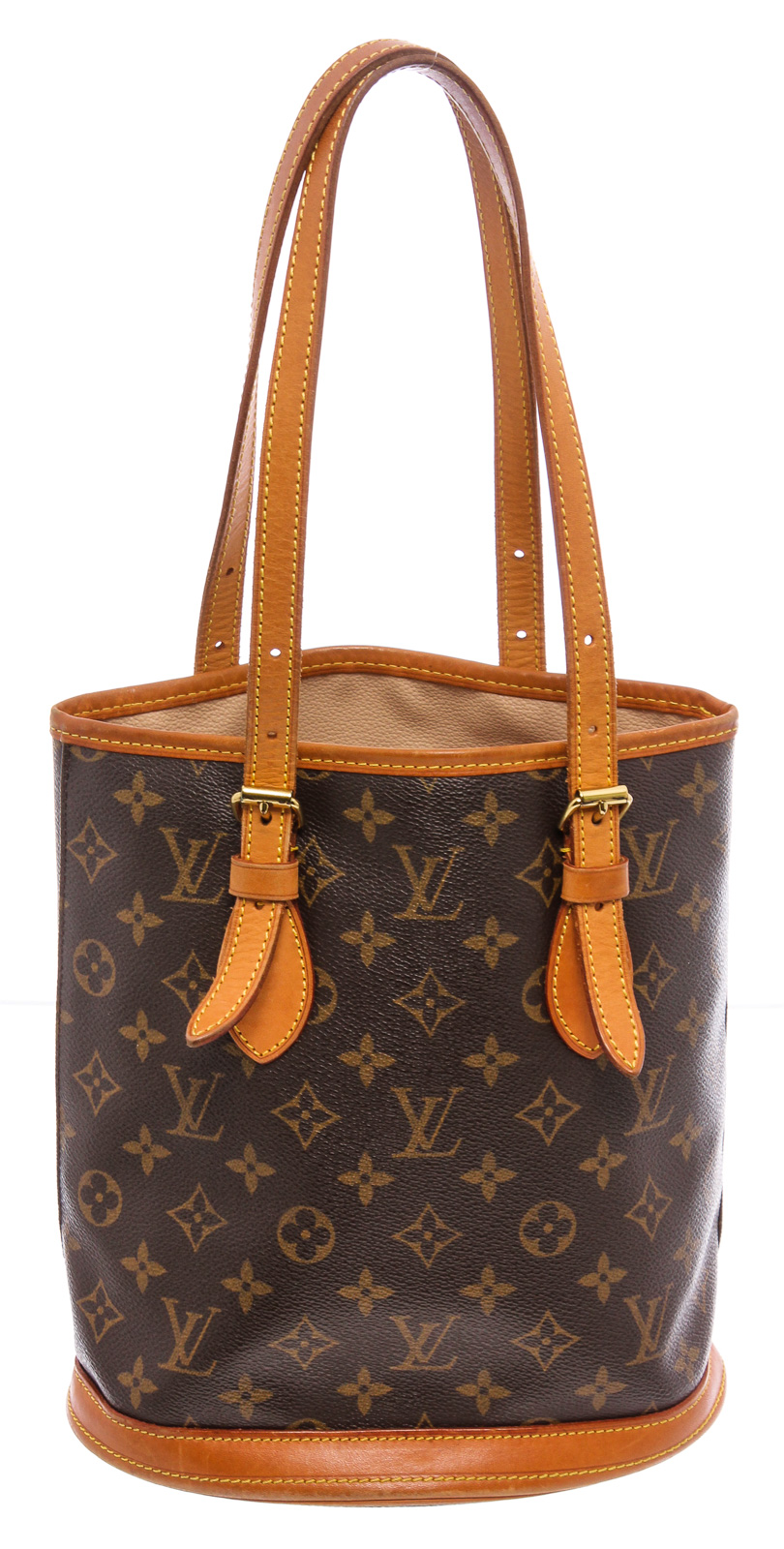 Louis Vuitton Monogram Petit Bucket Marque Luxury.jpg