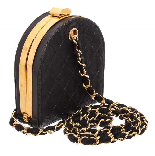 Chanel Vintage Quilted Canvas Frame Crossbody.jpg