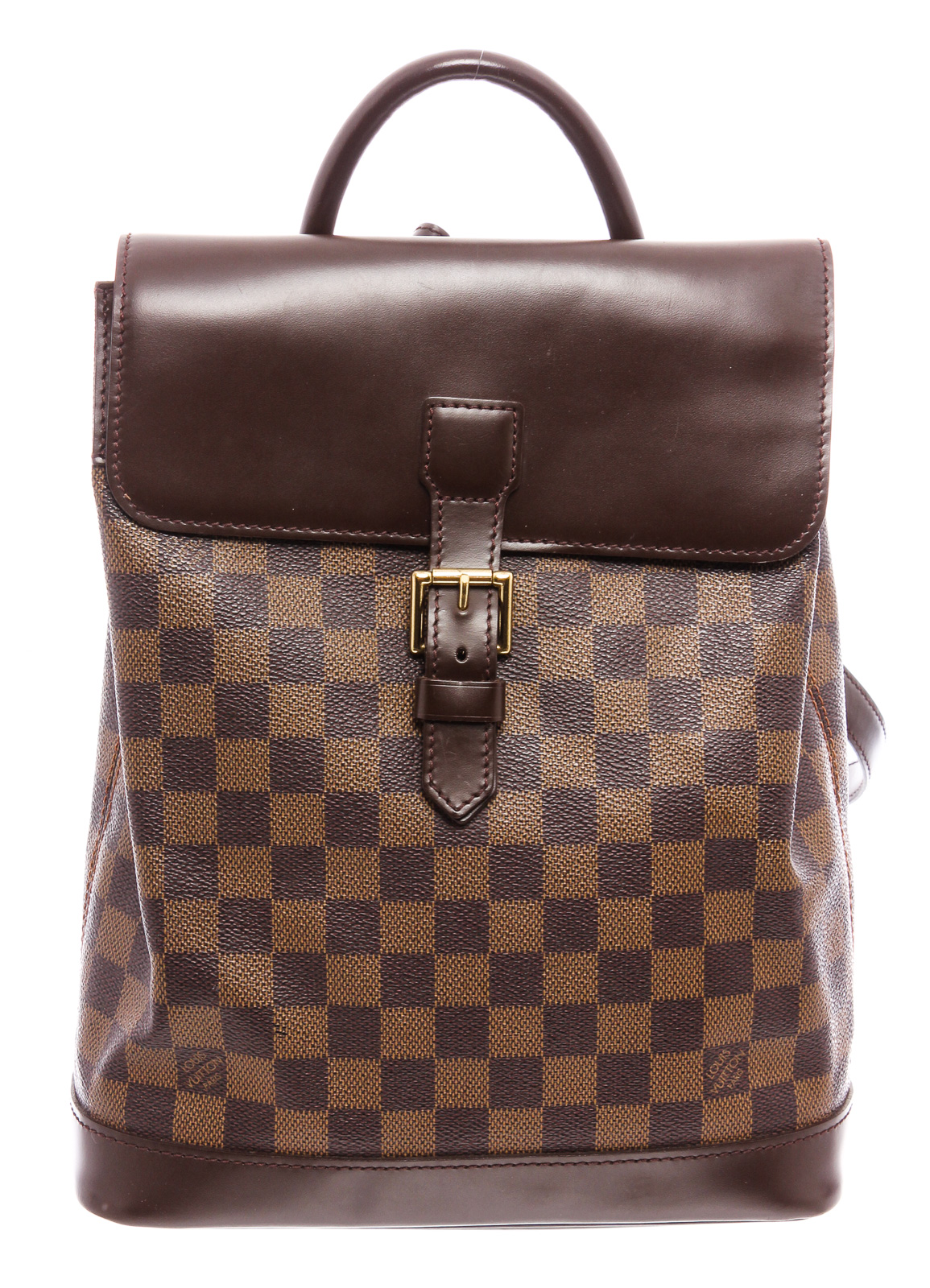Louis Vuitton Damier Soho Backpack Marque Luxury.jpg
