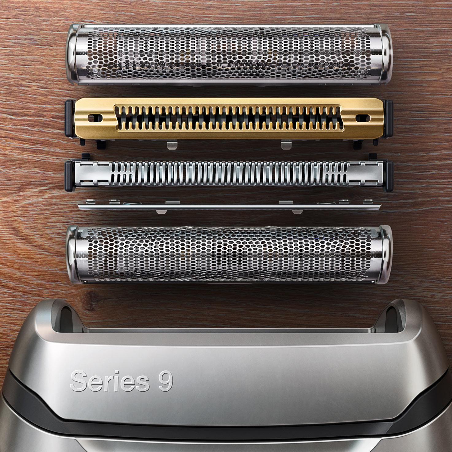 Braun 9365cc Series 9 wet/&dry 200543 Elektrorasierer für Trocken /& Nassrasur