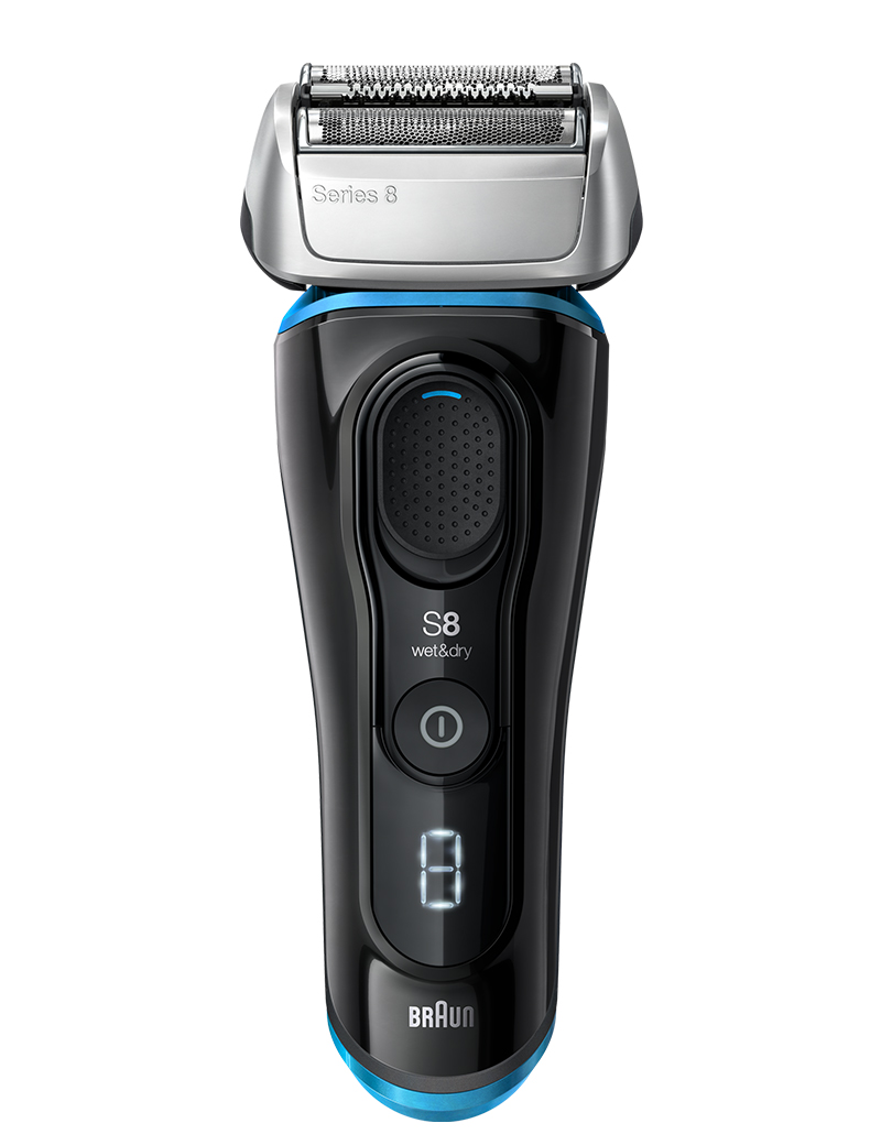 Series 8 shaver black / blue