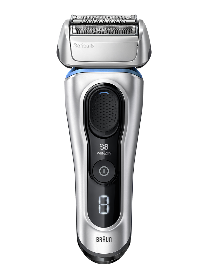 Series 8 shaver silver