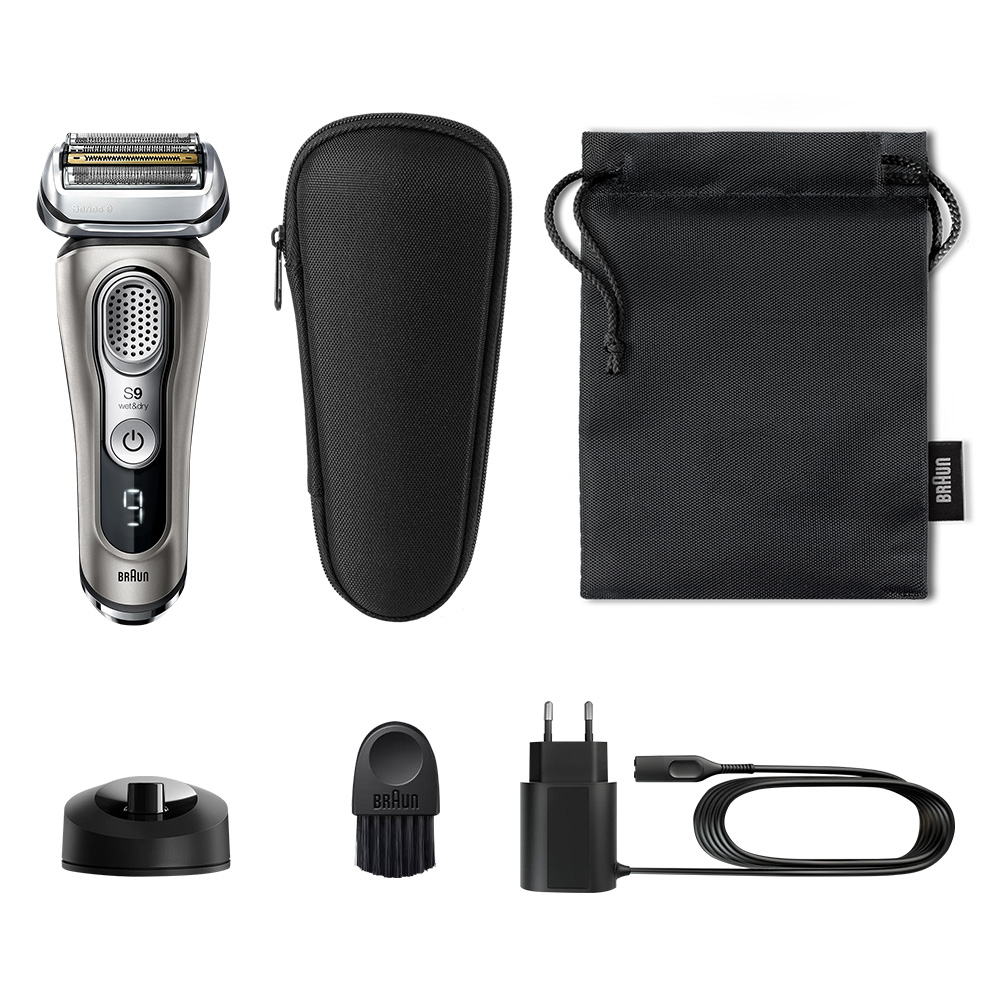 Series 9 9345s shaver - What´s in the box