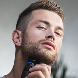Trim your beard to your desired length