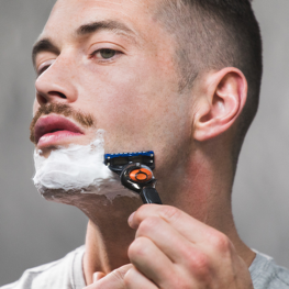 Clean shave to sharpen  your Moustache