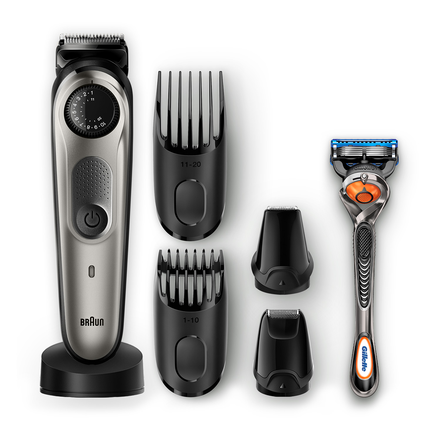 Braun BeardTrimmer BT7040 - What´s in the box