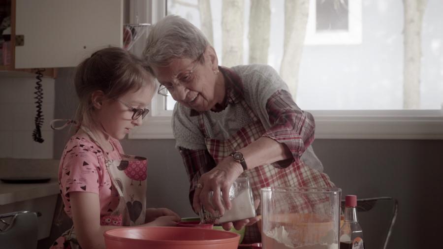 Granny and Mia