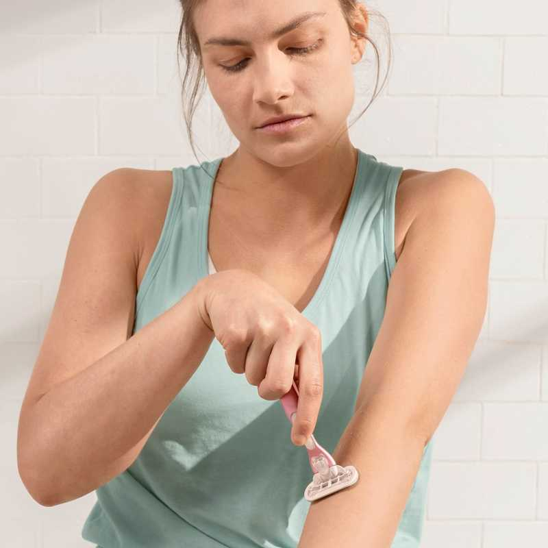 Arm Shaving with Spring 2019 Rose Gold